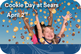 Cookie Day At Sears