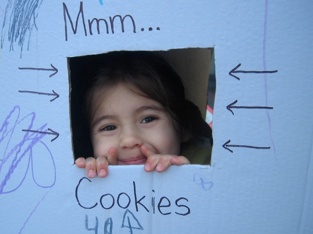 Automated Girl Guide Cookie Machine. Photo by Kristyn Simmons
