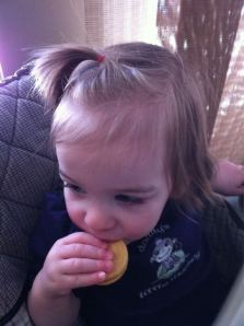 1st time enjoying Girl Guide Cookie!