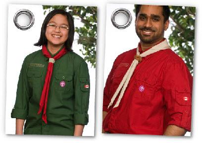 Scouts Canada New Uniforms
