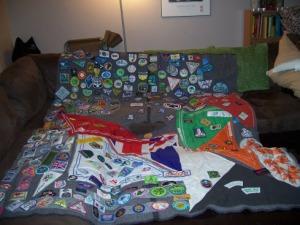 Camp Blanket. Guider Sarah L Dartmouth NS