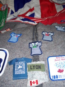 Close Up of Camp Blanket. Guider Sarah L Dartmouth NS