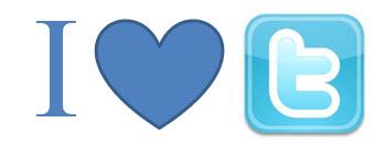 I heart twitter