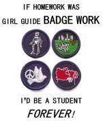 Badge work as homework