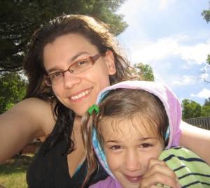 Renée and daughter