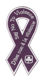 Say No to Violence Crest