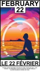 World Thinking Day card