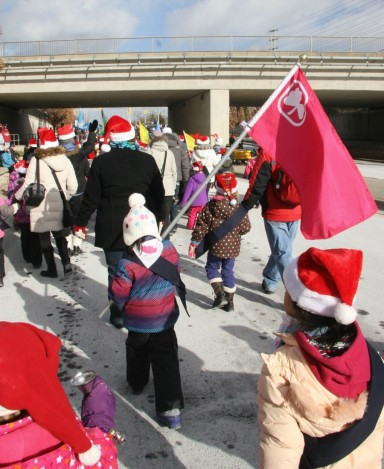 Mississauga Santa Claus Parade. Photo courtesy Chelsea