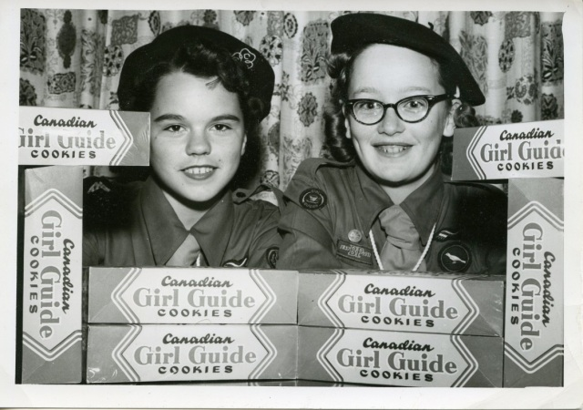 (1957, from Girl Guides of Canada National Archives)