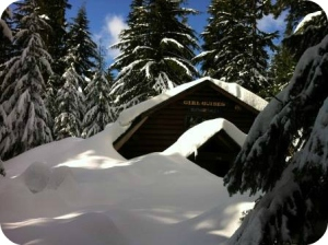 Hollyburn Chalet on beautiful Hollyburn Mountain, B.C.